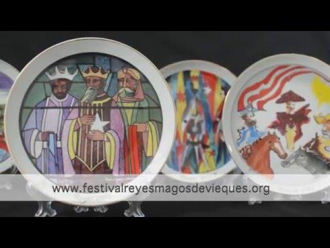 Platos Conmemorativos del Festival de los Reyes Magos de Vieques