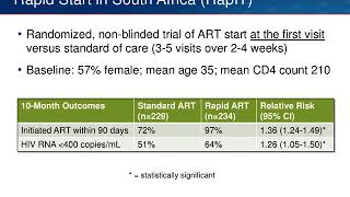 Guidelines Update and ARV Approvals -HIV State of the ART 2018-Part 1