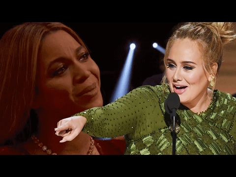 5 Times Adele Proved She's Beyonce's Biggest Fan (видео)