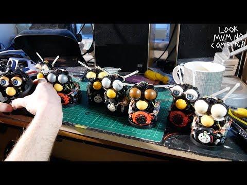 Furby Organ Vlog #2 - Building It