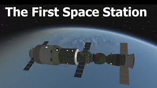 50 Years Ago The First Space Station Launched - Salyut 1
