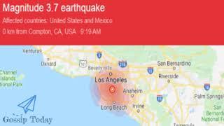 Quake Strikes Compton Los Angeles