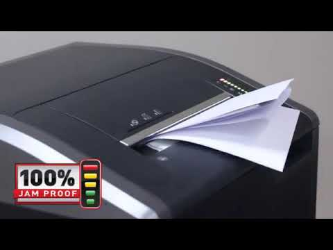 Video of the Fellowes Powershred 425i Shredder