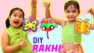 DIY Rakhi Making - Kids Pretend Play Home Made Rakhi | ToyStars