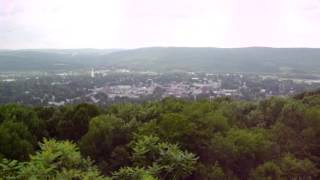 preview picture of video 'Norwich, NY - View From The Top Of West Hill'