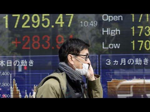 «Στο κόκκινο» και πάλι οι διεθνείς αγορές