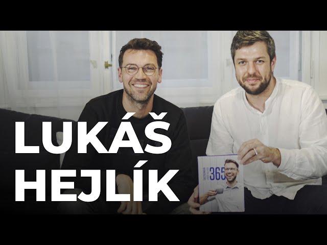 DEEP TALKS 40: Lukáš Hejlík – Herec, autor Gastromapy Lukáše Hejlíka a projektu Listování