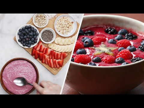 Fruity Smoothie Bowls