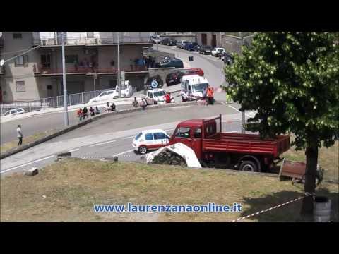 Preview video Video servizio gara automobilistica slalom 12° trofeo Città di Laurenzana campionato Puglia e Basilicata Laurenzana 26 giugno 2016