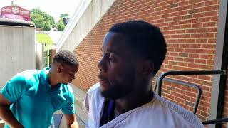 TigerNet: Kendall Joseph after practice - 8/16/17