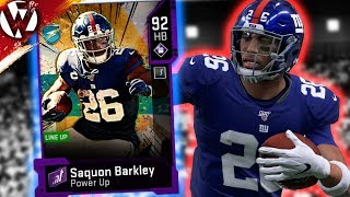 MUT HEROES SAQUON BARKLEY IS UNSTOPPABLE!   Madden 20 Gameplay
