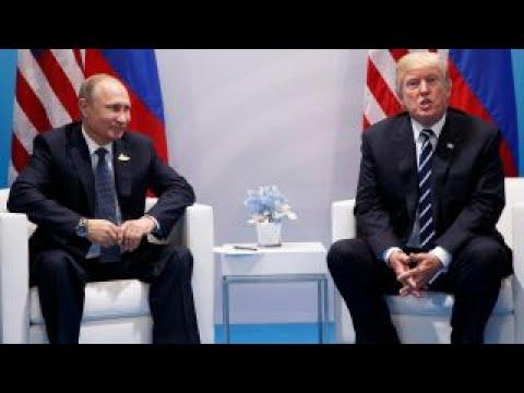 Trump presses Putin on Russian meddling in election