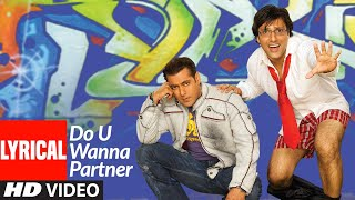 Lyrical: Do U Wanna Partner | Partner | Salman   - YouTube