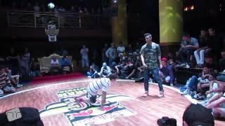 preview picture of video 'Red Bull BC one ALGERIE CYPHER Oran 2014 elimination battle 2 zigzag vs jalal'