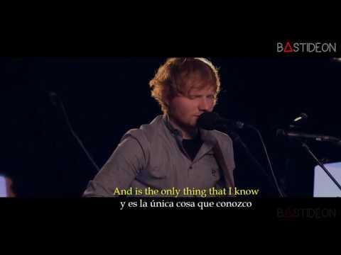 Ed Sheeran - Photograph (Sub Español + Lyrics) (видео)