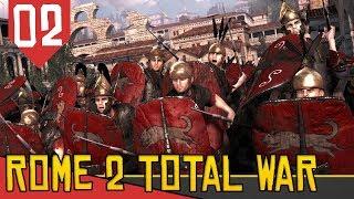 Tomando um Pau - Rome 2 Total War COOP #02 [Série Gameplay Português PT-BR]