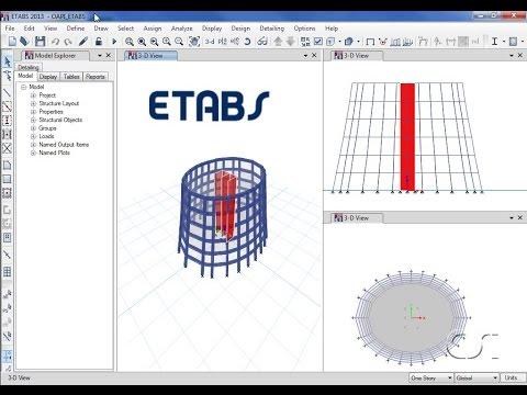 Programming ETABS using the OAPI