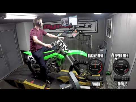 How Much Power Does The 2019 Kawasaki KX250 Make?