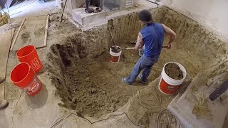 The Big Dig: Hand Digging Out A 100-Year-Old Basement