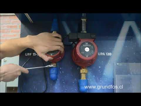 Instalación Bomba Upa 15-90 y Upa 120.