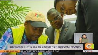 Kenyans in the US register for Huduma Namba