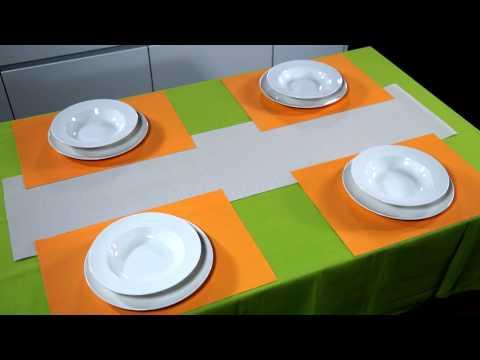 Video TESCOMA prostírání FLAIR TREND 45x32 cm, latté 2