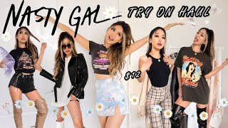 HOW TO STYLE EDGY OUTFITS | NASTY GAL Try On Haul Spring Summer 2020