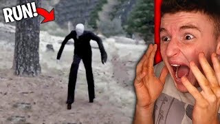SLENDERMAN Spotted In Real Life.. (HELP)