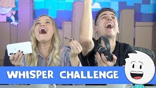 Whisper CHALLENGE with iJustine