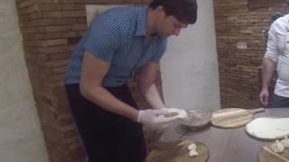 Готовим хинкали с грузинским поваром. Мастер-класс