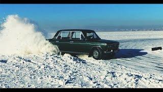 JDMщики против ТАЗоводов, серия 3: Зимний дрифт ВАЗ 2103 vs. Toyota chaser