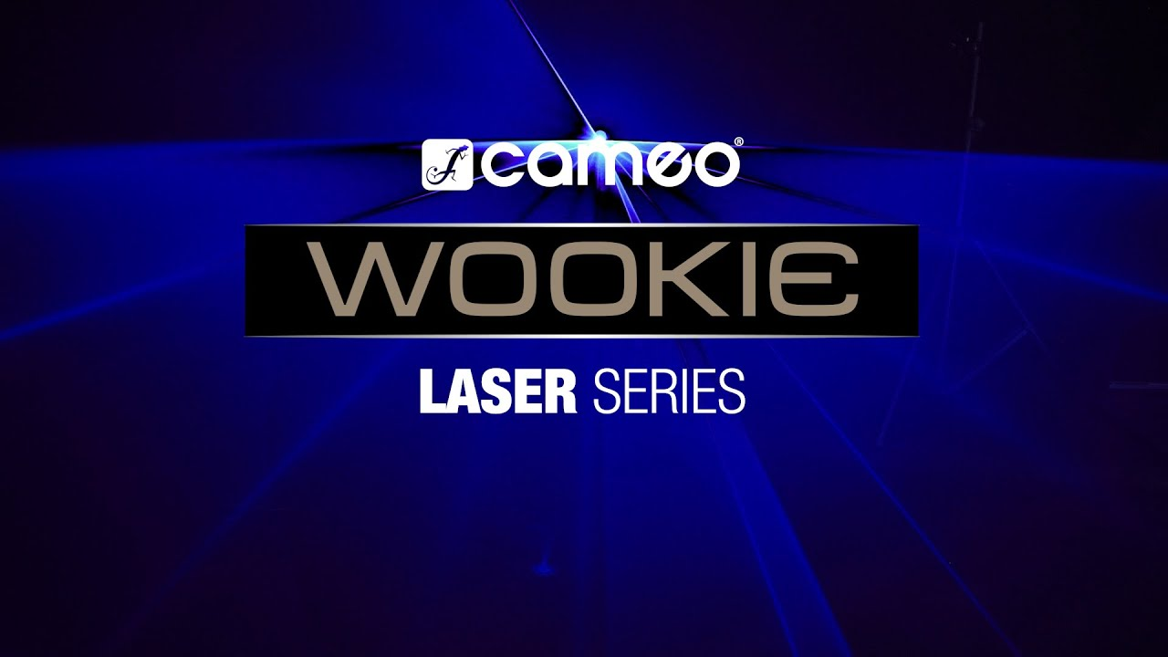 Cameo WOOKIE 400 RGB Animation Laser