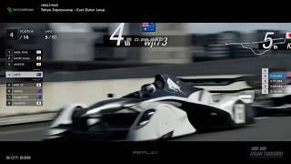 Gran Turismo™SPORT - Tokyo Expressway Red Bull X2014 Junior GrX (online race)