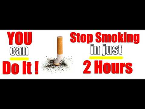 Stop Smoking in one session it has never failed yet!!