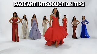Beauty Pageant Introduction Tips | How To Win Your Pageant