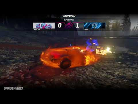 Volcano Lake Countdown Gameplay de Onrush