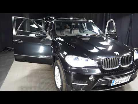 BMW X5 xDrive30d TwinPower Turbo A E70 SAV, Maastoauto, Automaatti, Diesel, Neliveto, GKU-442