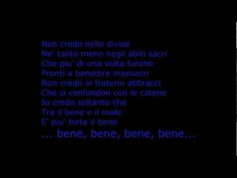Jovanotti - Penso Positivo Lyrics ( letra)