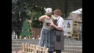 preview picture of video 'Ukončenie Dní mesta Ružomberok 2013 aj za účasti hlúpej ženy zo Stopky'