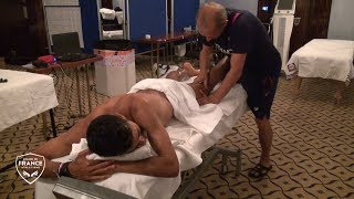 Berlin 2018 : Massage de champion pour Morhad Amdouni