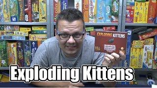 Exploding Kittens (asmodee) - ab 7 Jahre - Top Kickstarter und einfach nur verrückt!