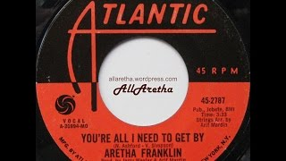 Aretha Franklin - You're All I Need To Get By / Pullin' - 7″ - 1971