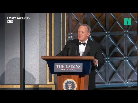 Sean Spicer's Emmy Appearance Steals The Show