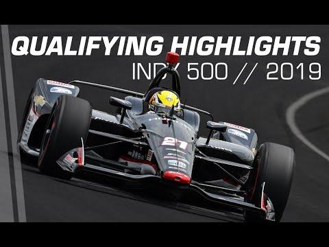 インディカー第6戦インディ500 予選Day1