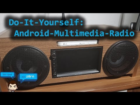 DIY - Do-It-Yourself - 2-DIN Android Multimedia Radio selbst bauen   DAB - Analog - Internet  -Radio