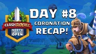 Clash Royale: Ash Makes the Finals! Coronation Day 8 Recap - CRNAO