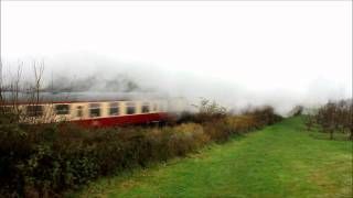 preview picture of video '60163 Tornado on The Cathedrals Express - 11/11/2011'
