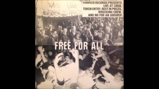 Various -  Free for all LIVE lp (at CBGB's)