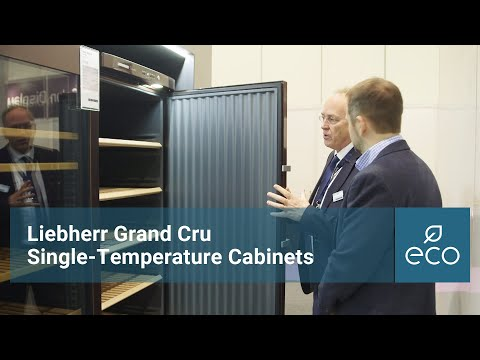 Liebherr Grand Cru Single Temperature Cabinets