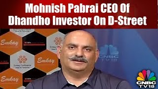 Mohnish Pabrai CEO Of Dhandho Investor On D-Street | CNBC-TV18 | Market Masters
